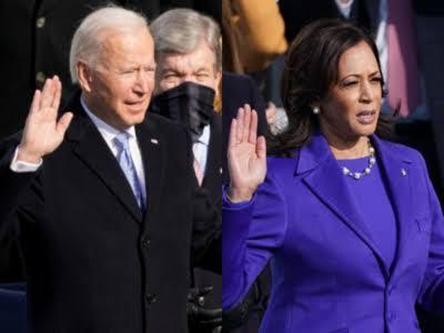 Jo Biden and Kamla Devi Harris