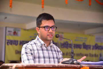 Purnea DM Rahul Kumar