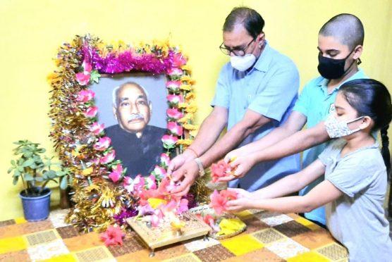 47th Punya tithi of BN Mandal at Vrindavan.