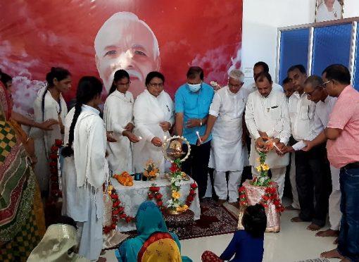 56th punya tithi inauguration of Mateshwari Jagdamba At Brahmakumari Ishwariya Vishwavidyalaya Masdhepura.