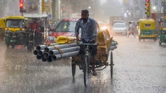 Heavy monsoon rainfall in Bihar