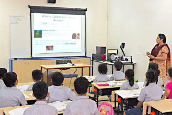 Smart classrooms in Bihar government schools