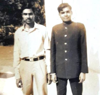 former Chief minister of Orisa Kishan Patnayak and Dr.Bhupendra Narayan Yadav Madhepuri.