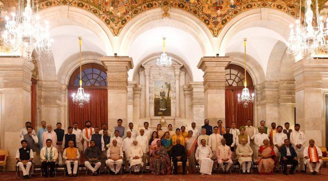 Modi Govt reshuffling