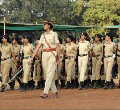 Lady Police Officer in Bihar.