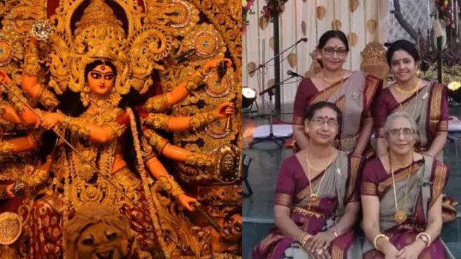 Durga Puja by Lady Priest.